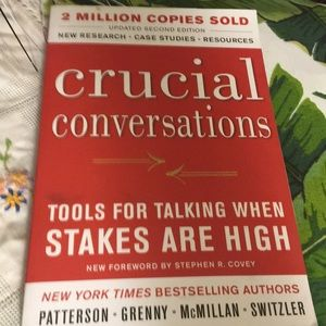 Crucial Conversations-tools for talking